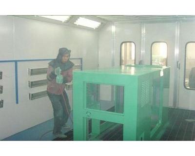 工程机械罩壳喷漆